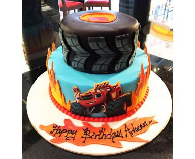 Wheel Truck Cake
