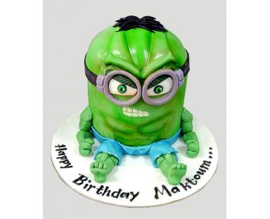 Minion Green Cake