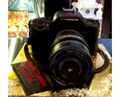Photo Camera Cake