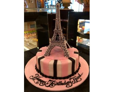 Eiffel Tower Fashion Cake