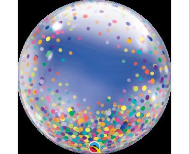 Colorful Confetti Balloon 46 cm