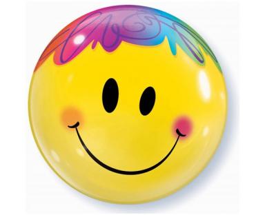 Bright Smile Face Balloon 56 cm
