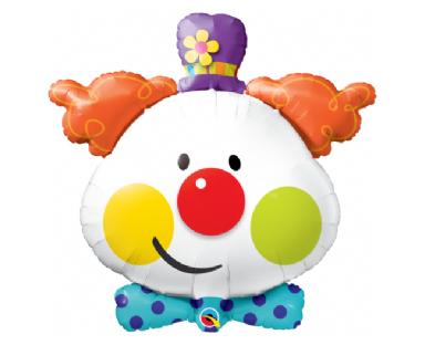 Cute Clown Balloon 91 cm