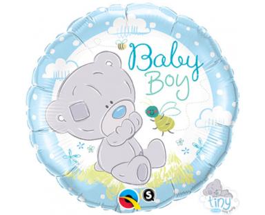Teddy Bear Baby Boy Balloon 46 cm