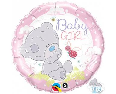 Baby Girl Bear Balloon 46 cm