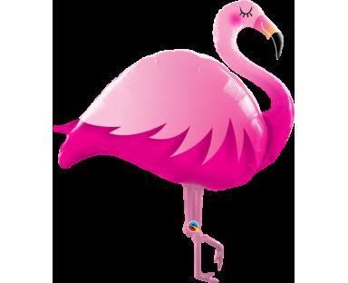 Pink Flamingo Balloon 117 cm