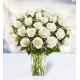 36 White Roses
