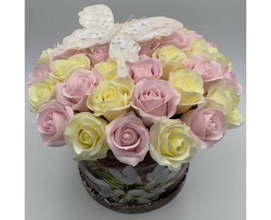 41 Soap Roses