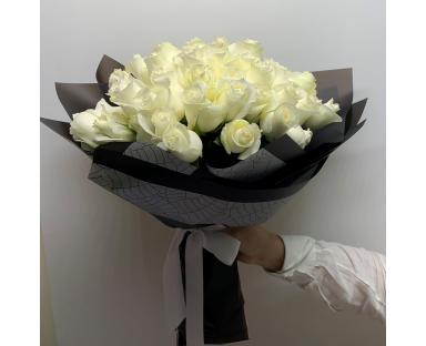 Purple Roses Classic Bouquet (10 - 101 Roses)