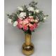 Flower Arrangement in Murano Glass Vase