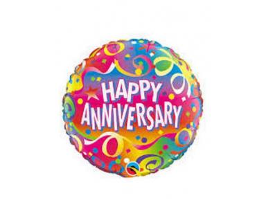 Happy Anniversary Balloon 47 cm
