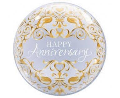 Happy Anniversary Balloon 46 cm