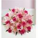 Pink Lilies & Roses Designer Bouquet