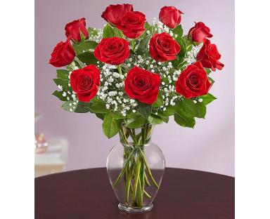 12 Red Roses Elegance