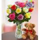 Happy Birthday Assorted Roses