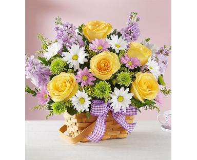 """Mixed Chrysanthemums arrangement """"Lucille"""""""
