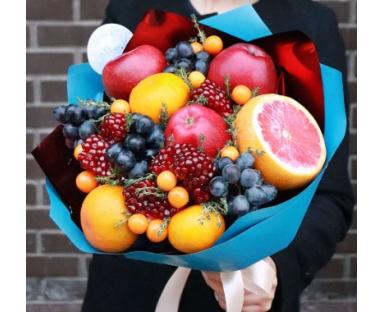 Bouquet with Grapefruit & Pomegranate