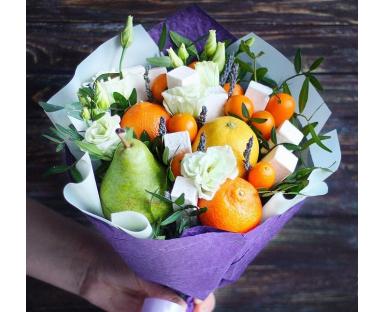 Bouquet of tangerines
