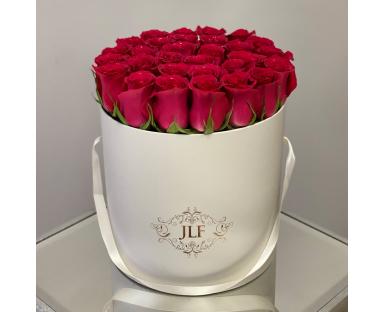 Fuchsia Rose Box