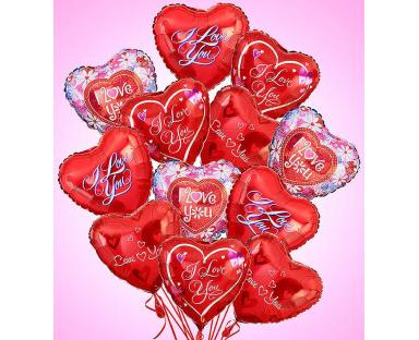 12 Love & Romance Premium Balloons