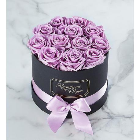 Lavender Roses Box