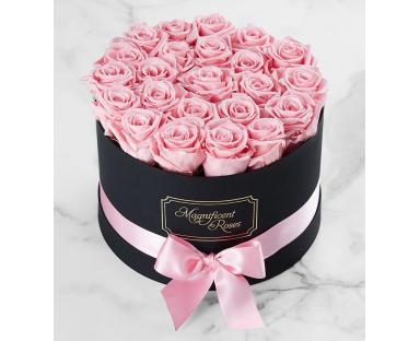 Pink Roses Box