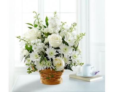 In White