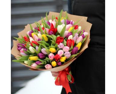 70 Mix Tulips