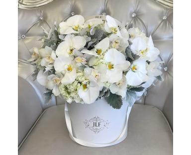 Orchids&Hydrangea Bouquet ''Elsie''