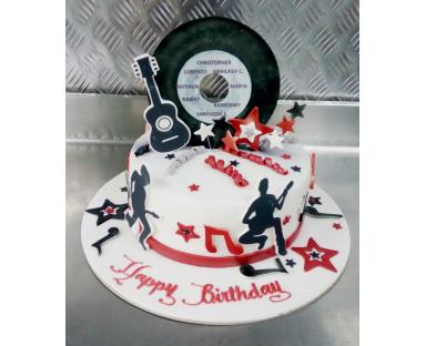 Recording Cake