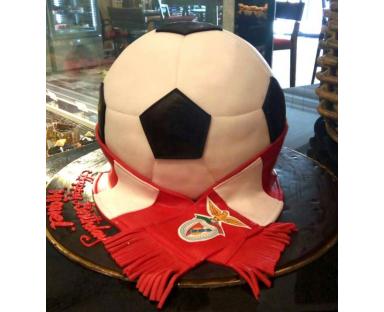 Benfica Football Ball Cake