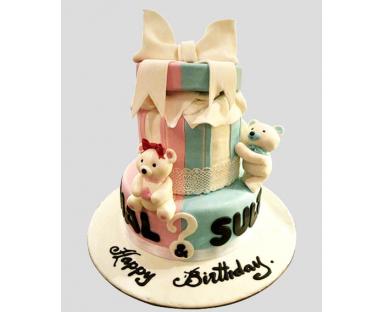 Bear Cake for Kids