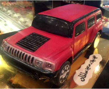 Hummer Car Cake