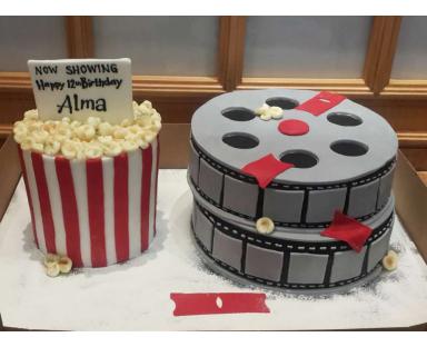 Movie Pop Corn Cake