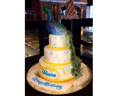 Pheasant 3D Cake