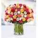 100 Premium  Multicolored Roses