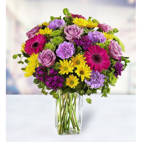 5 Gerberas 7 Roses 8 Carnations 14 Chrysanthemums