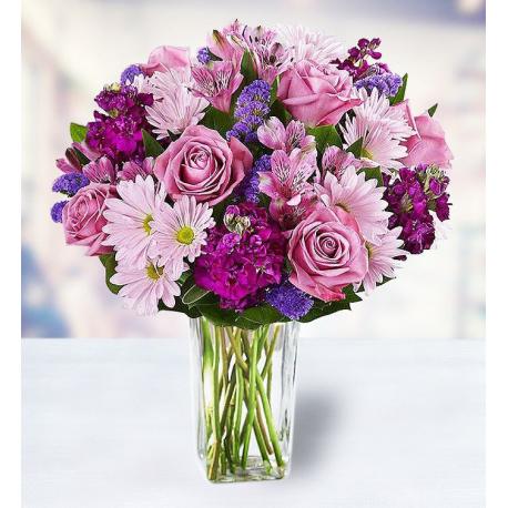 7 Roses 5 Chrysanthemums 5 Alstroemerias 7 Carnations