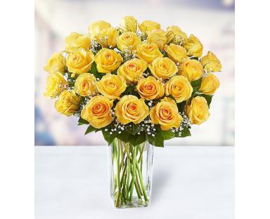 36 Yellow Roses