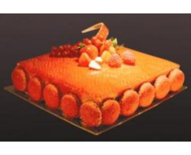 Fraise Tagada Cake (8 Portions)