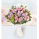 3 Roses 3 Carnations 4 Chrysanthemums 2 Dendrobium